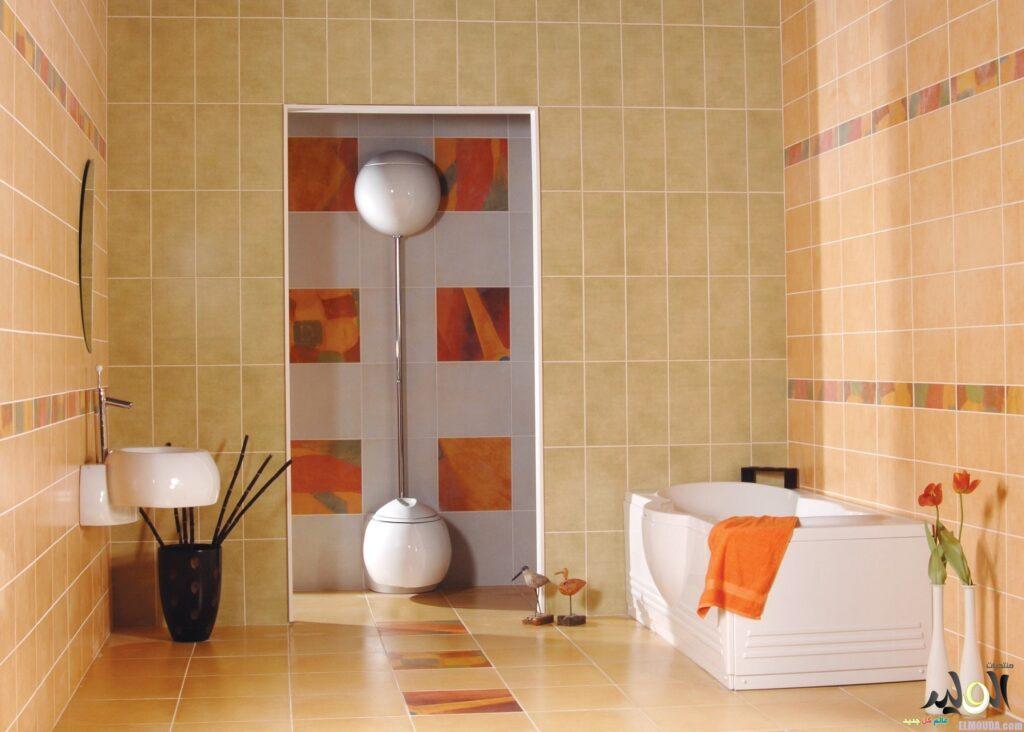 ديكور حمام كشف تسربات
